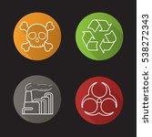industrial pollution flat... | Shutterstock .eps vector #538272343