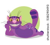 Cheshire Cat. Illustration To...