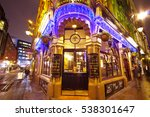 st james tavern in london... | Shutterstock . vector #538301647