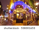 st james tavern in london... | Shutterstock . vector #538301653