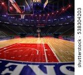 basketball court. sport arena... | Shutterstock . vector #538304203