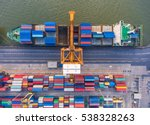 container container ship in... | Shutterstock . vector #538328263