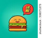 eat me vector illustration...