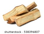 pile of firewood sight along... | Shutterstock . vector #538396807