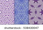 Luxury Seamless Purple And...
