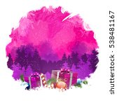 happy new year digital...   Shutterstock . vector #538481167
