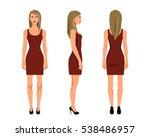 vector illustration of three... | Shutterstock .eps vector #538486957