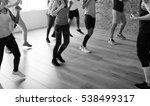 diversity people exercise class ... | Shutterstock . vector #538499317