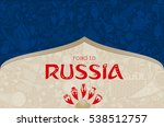 russian blue background  world...