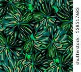 seamless background. flowers.... | Shutterstock . vector #538517683