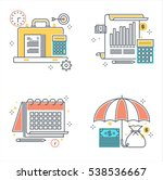 color line  business and... | Shutterstock .eps vector #538536667