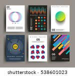 vector geometric abstract... | Shutterstock .eps vector #538601023