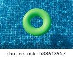 Green Pool Float  Ring Floatin...
