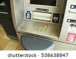 atm machine   Shutterstock . vector #538638847