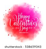 happy valentines day... | Shutterstock .eps vector #538659343