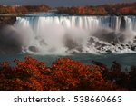 American Falls Adorned By...