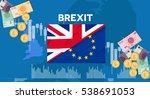 europe uk england economic... | Shutterstock .eps vector #538691053