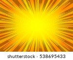 comic book background   Shutterstock .eps vector #538695433