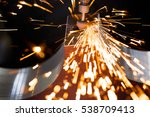 drill with diamond tipped... | Shutterstock . vector #538709413