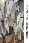 randomly scattered triangles of ...   Shutterstock .eps vector #538739617