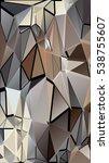 randomly scattered triangles of ...   Shutterstock .eps vector #538755607