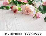 Valentine Background  Pink Ros...