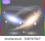Circular Lens Flare Transparen...