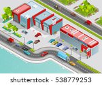 poster of auto service... | Shutterstock . vector #538779253