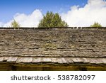 Detail Of An Old Roof With...