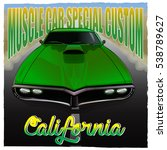 """muscle car special custom... 