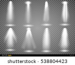 vector light sources  concert... | Shutterstock .eps vector #538804423
