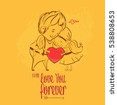 valentine's day. love ...   Shutterstock .eps vector #538808653