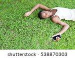 portrait of beautiful african...   Shutterstock . vector #538870303