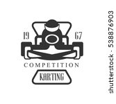 karting club racing competition ... | Shutterstock .eps vector #538876903