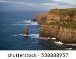 cliffs of moher in ireland at...   Shutterstock . vector #538888957