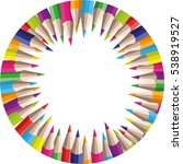 vector circle background of