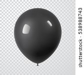 3d realistic colorful balloon.... | Shutterstock .eps vector #538988743