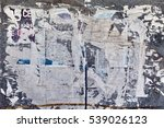 Old Street Billboard With Torn...