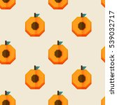 vector seamless pattern with... | Shutterstock .eps vector #539032717