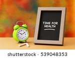 time for health  health concept