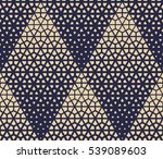 abstract geometric pattern with ... | Shutterstock .eps vector #539089603
