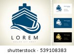 ship logo | Shutterstock .eps vector #539108383