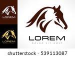 horse vector | Shutterstock .eps vector #539113087