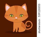 cat pet icon image vector...   Shutterstock .eps vector #539120353