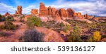 red rock canyon panoramic... | Shutterstock . vector #539136127