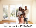 portrait of family in new home... | Shutterstock . vector #539142463
