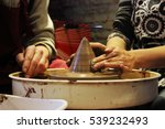 experienced master potter