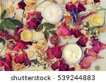 aromatic botanical cosmetics.... | Shutterstock . vector #539244883