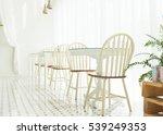 empty dining table interior... | Shutterstock . vector #539249353