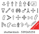 classic collection of simple... | Shutterstock .eps vector #539265253